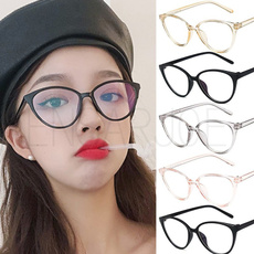 Plastic, plainmirrorglasse, cleareyewear, womenglasse