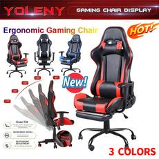 swivel, ergonomicgamingchair, highbackchair, footracingchair