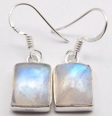 Sterling, rainbow, Hoop Earring, 925 sterling silver