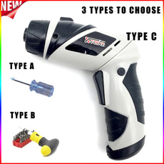 cordlessscrewdriver, Electric, Battery, Tool