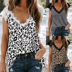 Fashion, Stitching, Lace, leopard print