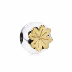 Sterling, Clover, charms for pandora bracelets, Jewelry