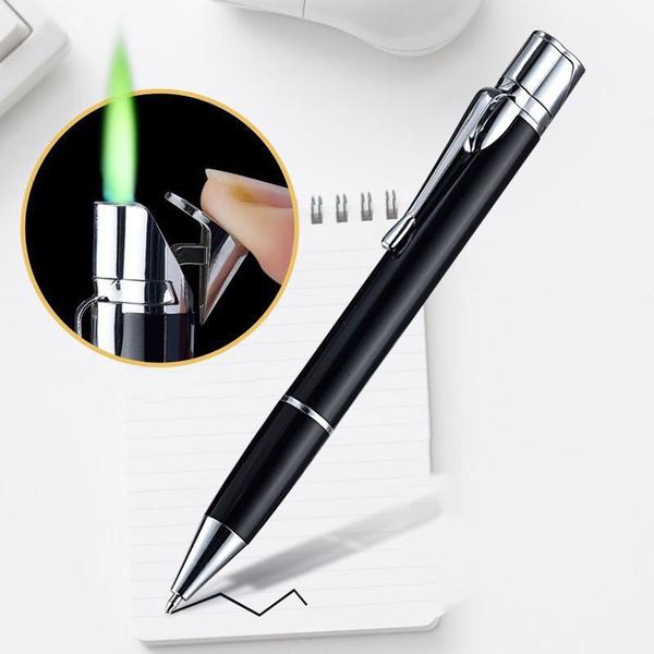 ballpoint pen, Lighter, portablelighter, Metal