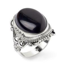 Sterling, antiquering, DIAMOND, Jewelry