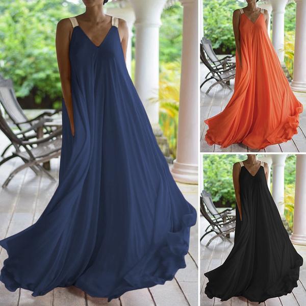 Swing dress, plaindres, Necks, dressforwomen