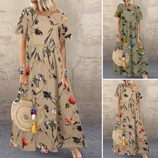 loosedressforwomen, Summer, Plus Size, plus size dress