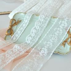 lace trim, Flowers, dressfabriclace, Lace