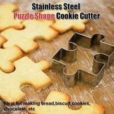 stainlesssteelmold, Steel, biscuitscuttingmold, puzzleshapemold