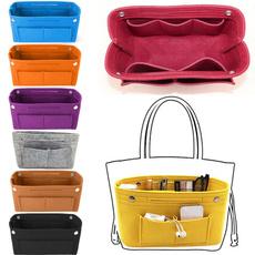 Makeup bag, feltstoragebox, cosmeticorganizer, purses