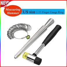 Steel, fingermeasuring, Jewelry, ringscale