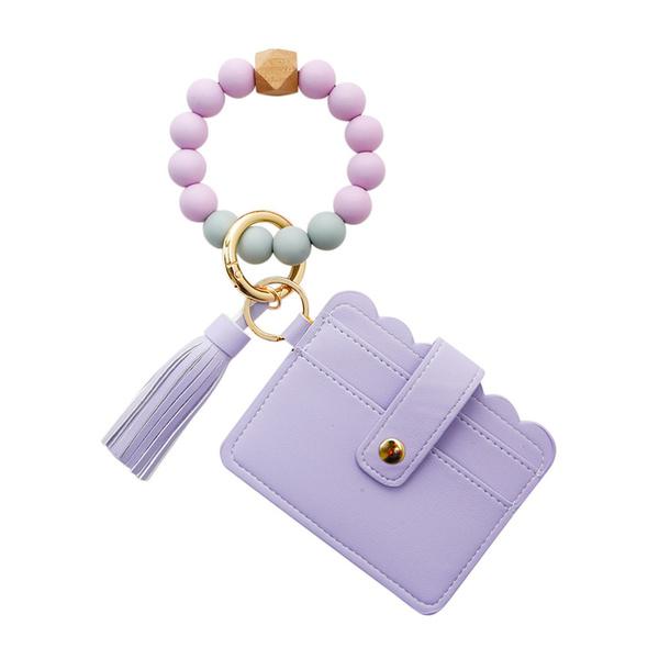 keychainbracelet, Bracelet, Tassels, Beaded