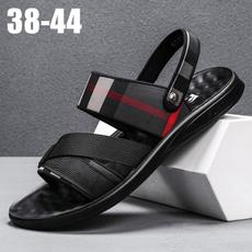 Summer, Fashion, checkered, Sandals & Flip Flops