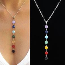chakranecklace, gemstonenecklace, Jewelry, chakrapendant