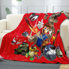 airconditioningblanket, Mario, Quilt, Bedding