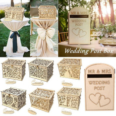 Box, weddingmoneybox, weddingcardbox, Wedding Supplies