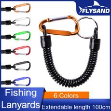 stretchfishingcord, Carabiners, Key Chain, camping