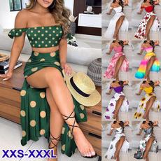Mini, Summer, Two-Piece Suits, Moda