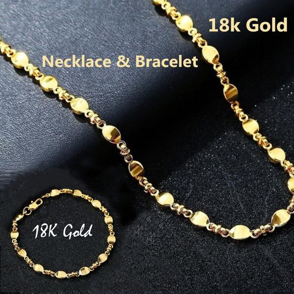 Sterling, Charm Bracelet, Chain Necklace, Fashion