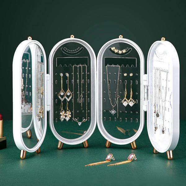 Storage Box, Foldable, earringstorage, Jewelry