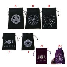 Card, Drawstring Bags, runesconstellation, dicebag