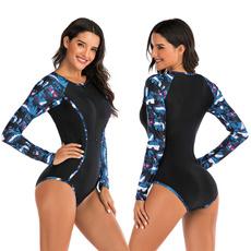 divingsuit, Fashion, maillotdebain, Sleeve