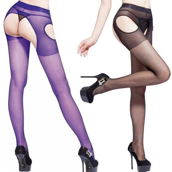 Open Crotch, Underwear, Fashion, womensexystocking