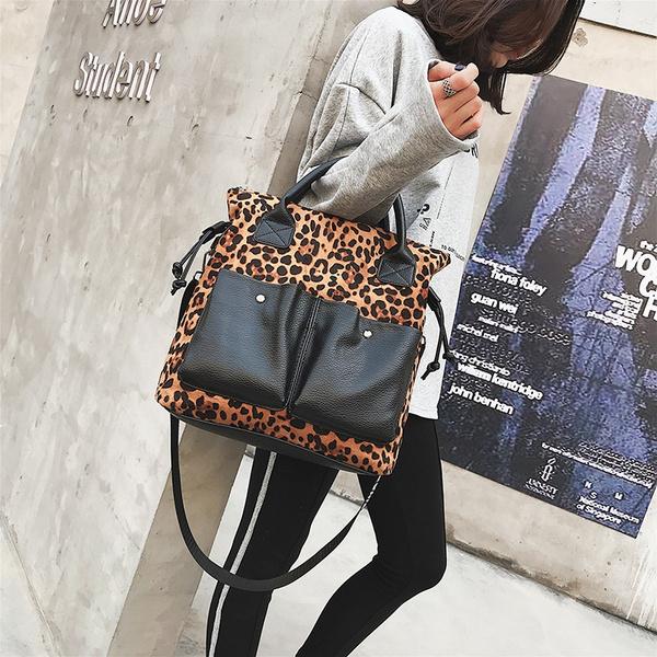 Shoulder Bags, leopardtote, Fashion, Totes