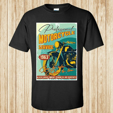 Professional, T Shirts, Motorcycle, service