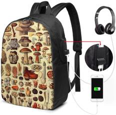 black backpack, backpackforwomen, art, usb