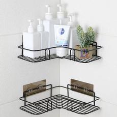 Steel, Bathroom, Shelf, Stainless Steel