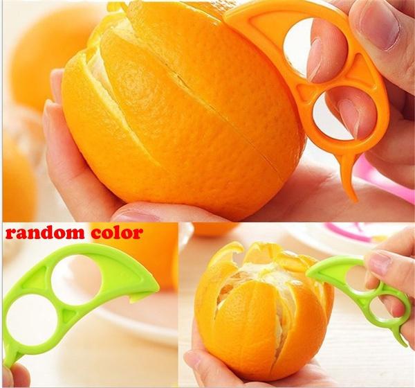 Plastic, lemonslicercutter, kitchendiningbar, Orange