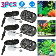 aquariumthermometer, Mini, minithermometerprobe, Tank