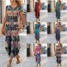 sleeve v-neck, Summer, dressesforwomen, Sleeve