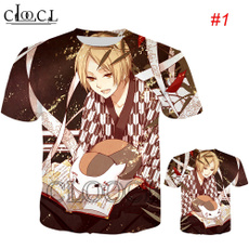 menfashionshirt, print t-shirt, Shirt, Tops