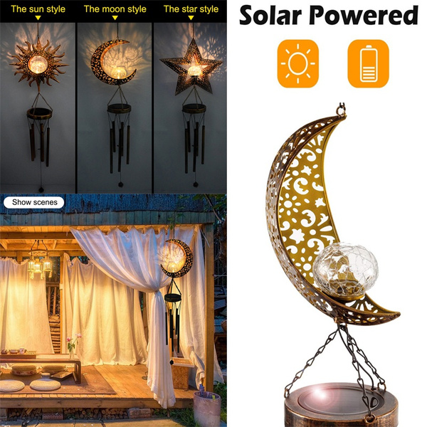 solarwindchime, Decor, led, Garden