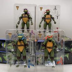Turtle, krang, michelangelo, figure