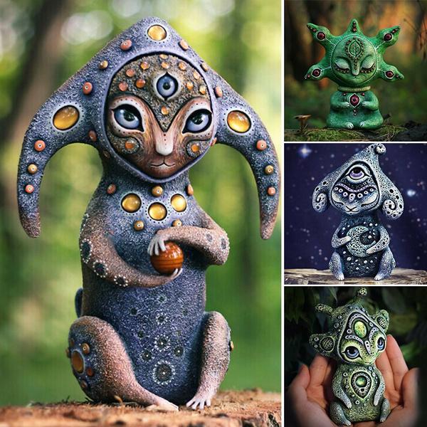 forestdreamer, fantasyworld, Ornament, resinstatue