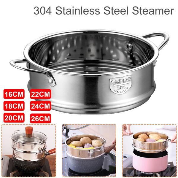 Steel, steamingpot, Cooking, steamingbowl