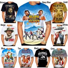 Mens T Shirt, budspencerterencehill, Shirt, Summer