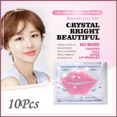 pink, eyemaskpatch, lipmask, Crystal