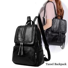 black backpack, Fashion, portablebag, handbags purse