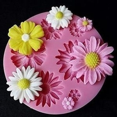 miniflower, cakepastrytool, fondantmold, Colorful