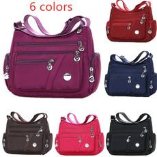 Shoulder Bags, Fashion, Zip, Tote Bag