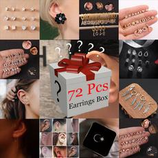 mysteryboxearring, DIAMOND, mysteryboxwomen, jewelrywomen