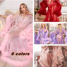 gowns, weddingfeatherbridalgowntullecoat, Bridal, ruffle