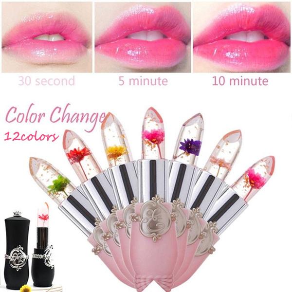 Flowers, transparentlipstick, Lipstick, Beauty