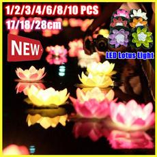 lotuslight, led, Garden, Colorful