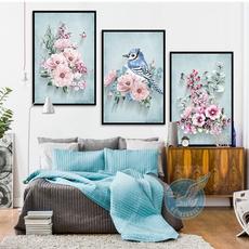 Blues, Wall Art, Home Decor, canvaspainting