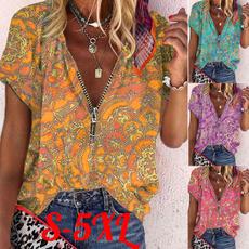 roupas femininas, Plus Size, magliettedonna, Summer