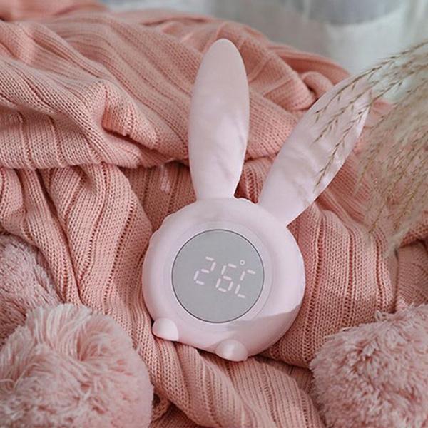 cute, Night Light, rabbit, Clock